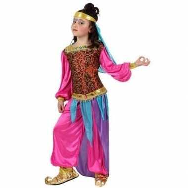 Arabische buikdanseres suheda verkleed carnavalskleding meisjes roose
