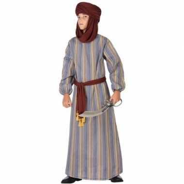 Arabische strijder ali verkleed carnavalskleding/gewaad jongens roose