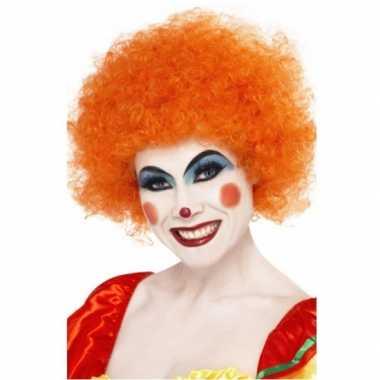 Carnavalskleding afropruik oranje roosendaal