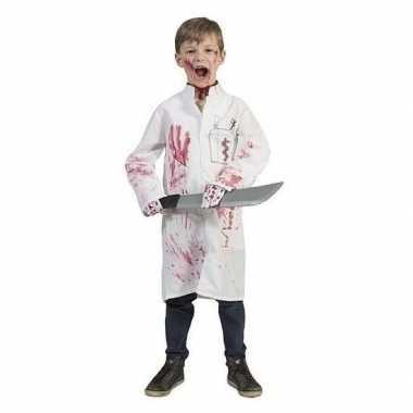 Bebloede doktersjas kinderen maat carnavalskleding roosendaal