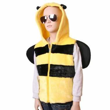 Carnavalskleding bijen bodywarmer kids roosendaal