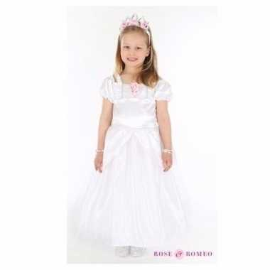Bruidmeisje Jurk Wit Carnavalskleding Roosendaal