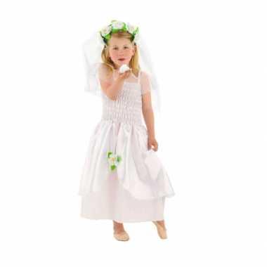 Bruidsjurk sluier meisjes carnavalskleding roosendaal