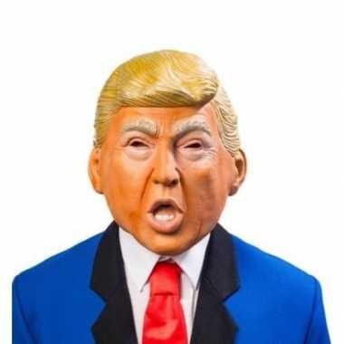 Donald trump verkleed masker volwassenen carnavalskleding roosendaal