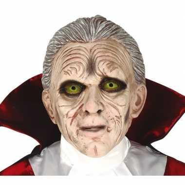 Dracula/vampier horror masker latex carnavalskleding roosendaal