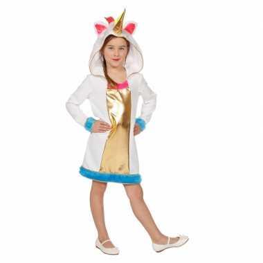 Eenhoorn jurkje meisjes carnavalskleding roosendaal