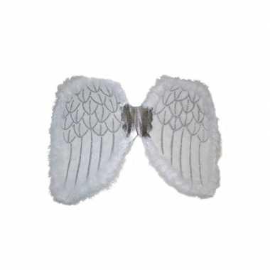 Engelen verkleed vleugels wit carnavalskleding roosendaal