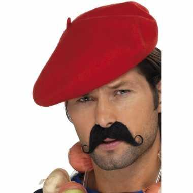 Franse rode baret carnavalskleding Roosendaal