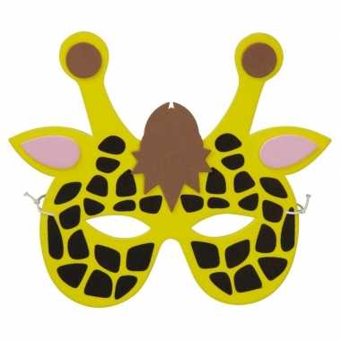 Giraf foam masker kinderen carnavalskleding roosendaal