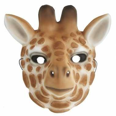 Giraffe verkleed dierenmasker kinderen carnavalskleding roosendaal