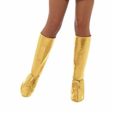 Gouden disco schoenhoezen carnavalskleding roosendaal