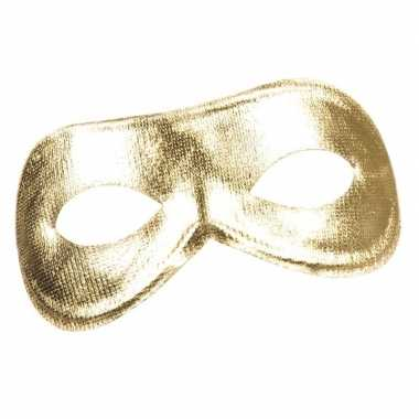 Gouden metallic oogmasker dames carnavalskleding roosendaal