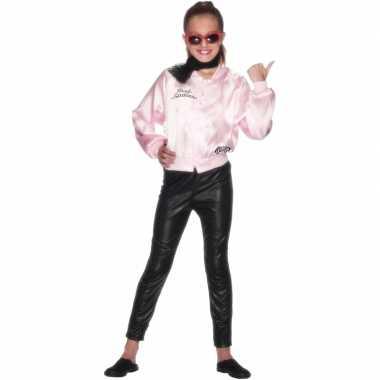 Grease pink lady jasje meisjes carnavalskleding roosendaal