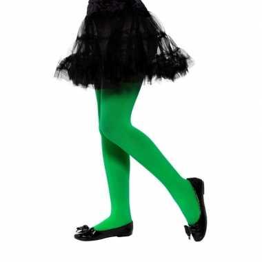 Groene legging kinderen jaar carnavalskleding roosendaal