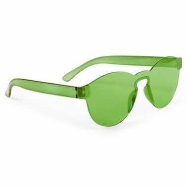 Groene verkleed zonnebril volwassenen carnavalskleding roosendaal