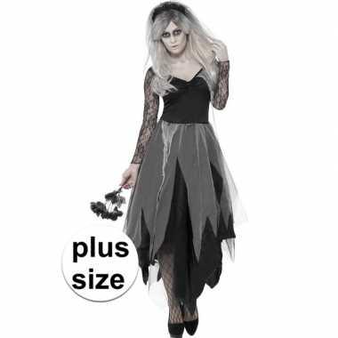 b745924e5b854e Grote maten zombie bruidsjurk dames carnavalskleding roosendaal ...