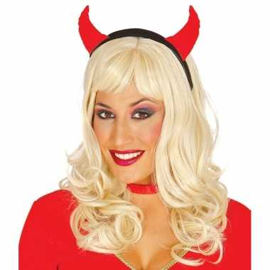 Halloween diadeem duivelsoortjes dames carnavalskleding roosendaal