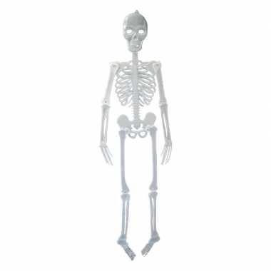 Halloween Glow the dark skelet carnavalskleding Roosendaal