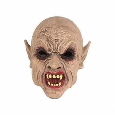 Halloween halloween goblin masker latex carnavalskleding roosendaal