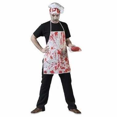 Halloween horror schort bloedspetters carnavalskleding roosendaal