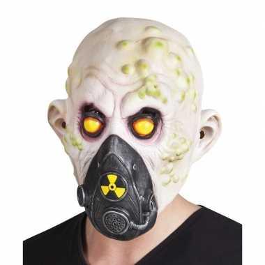 Halloween nucleair slachtoffer halloween masker latex carnavalskledin