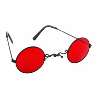 Halloween rode dracula/vampier party bril volwassenen carnavalskledin