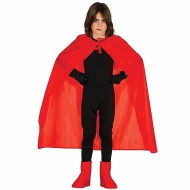 Halloween rode halloween verkleedcape kinderen carnavalskleding roose