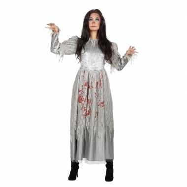 Halloween zombie halloween bruidsjurk dames carnavalskleding roosenda