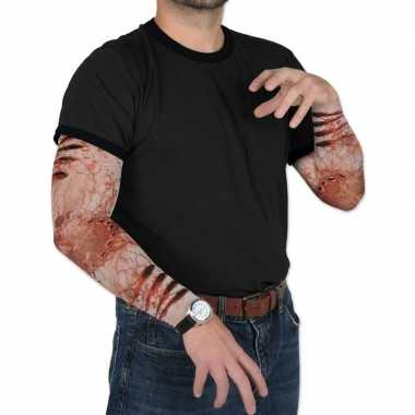 Halloween zombie halloween verkleedaccessoire mouwen volwassenen carn