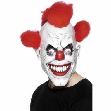 Horror clownsmasker volwassenen carnavalskleding roosendaal