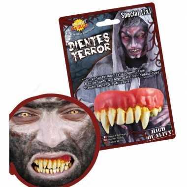 Horror gebitje monster tanden carnavalskleding roosendaal