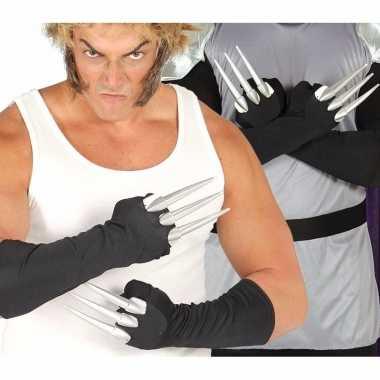 Horror klauwen handschoenen carnavalskleding roosendaal