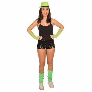 Hotpants pailletten zwart dames carnavalskleding roosendaal