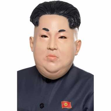 Kim jong un masker volwassenen carnavalskleding roosendaal