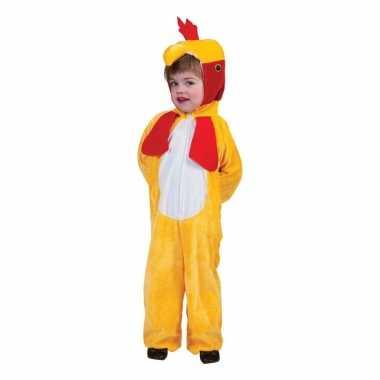 Kip/haan onesie kinderen carnavalskleding roosendaal