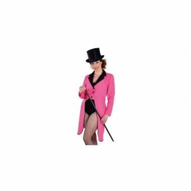 Lange slipjas dames carnavalskleding roosendaal