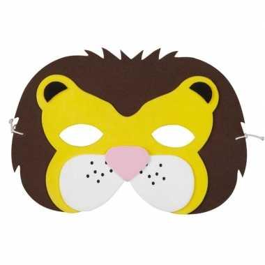 Leeuw foam masker kinderen carnavalskleding roosendaal