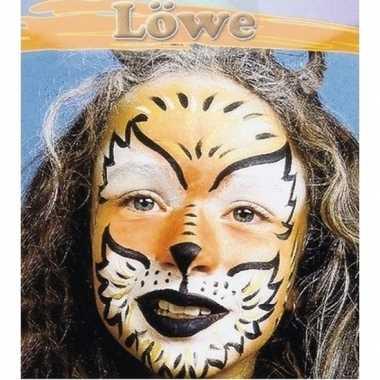 Leeuw schminken schminkset carnavalskleding roosendaal