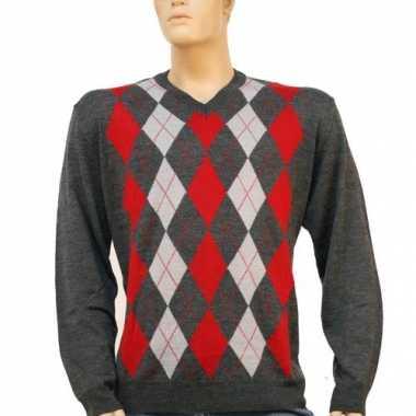 Carnavalskleding luxe heren pullover roosendaal