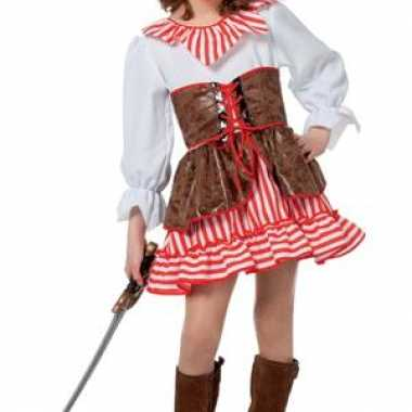 Meiden piraten jurkje morgan carnavalskleding roosendaal