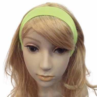 Carnavalskleding neon groene haarband roosendaal