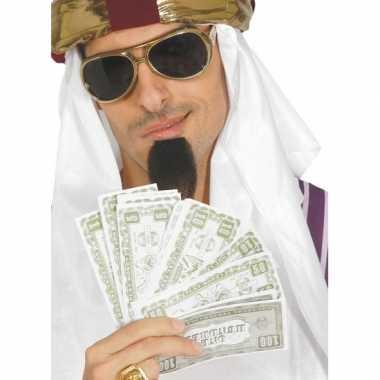 Nep dollars verkleedaccessoires biljetten carnavalskleding roosendaal