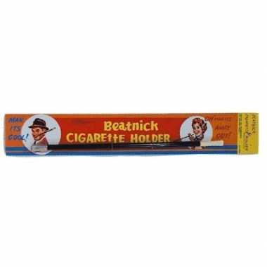 Nep sigaretten houder zwart carnavalskleding roosendaal