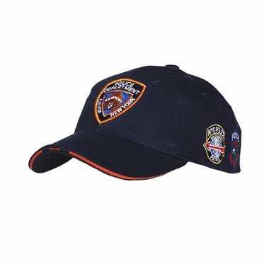 New York Police Department pet donkerblauw carnavalskleding Roosendaa