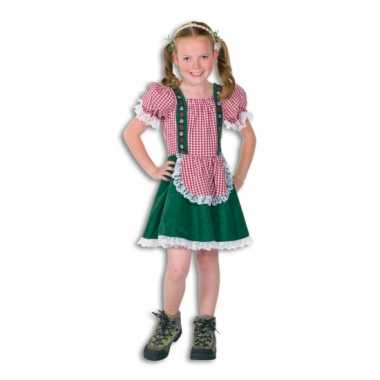 Oktoberfest tiroler jurkje kinderen carnavalskleding roosendaal