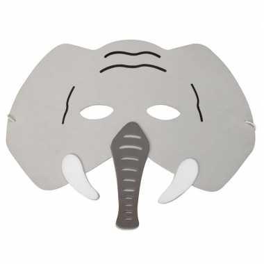 Olifant foam masker kinderen carnavalskleding roosendaal