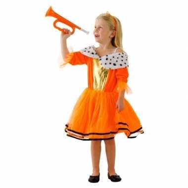 Oranje koninginnen jurk meisjes carnavalskleding roosendaal