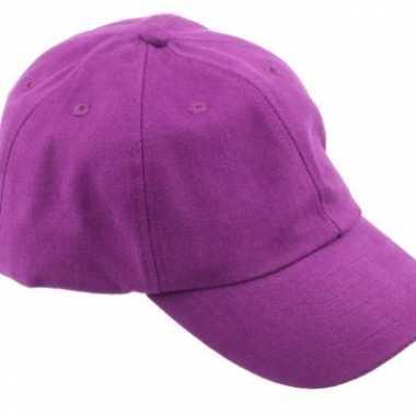 Carnavalskleding paarse baseballcaps roosendaal