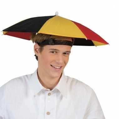 Paraplu hoed belgie carnavalskleding roosendaal