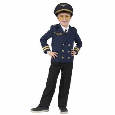 Piloten verkleed jasje kinderen carnavalskleding roosendaal